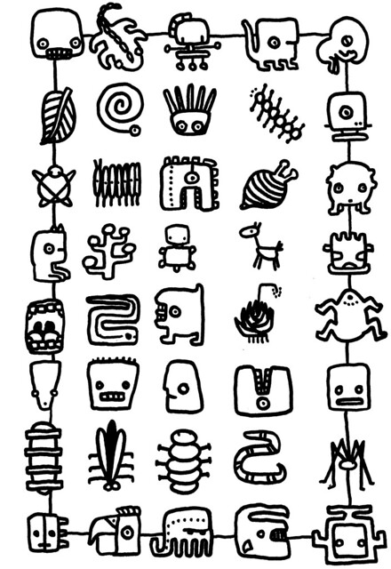 Aztec Symbols For Power 3716628 Scarsezefo
