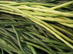 choy sum(0.0), komatsuna(0.0), asparagus(0.0), plant stem(0.0), vegetable(1.0), green bean(1.0), produce(1.0), food(1.0), common bean(1.0), crop(1.0),