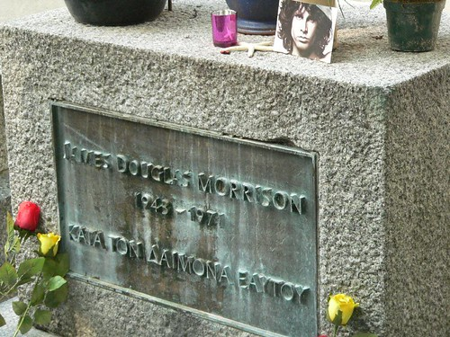 Cimitero P 232 Re Lachaise A Parigi Tombe Famose Da Jim