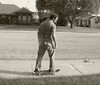 Me learning 2 skate! by Joshua Daniel O.