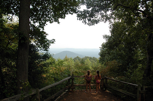 statepark park girls mountain nature kids children landscape ilovenature nc scenery view state north northcarolina scene geotag stanlycounty morrowmountain