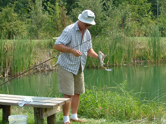 Man catches big fish in little pond flickr photo sharing for Big fish in a small pond game