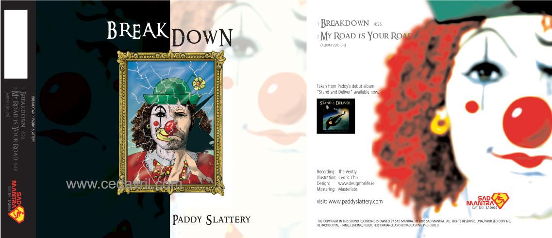 Breakdown Single J-Card CD Cover