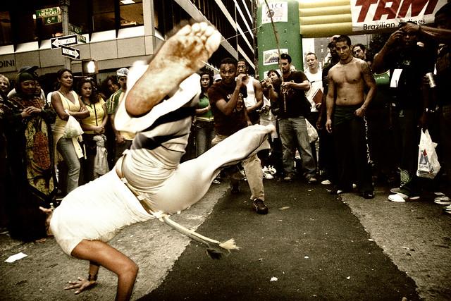 Awesome Capoeira - Magazine cover