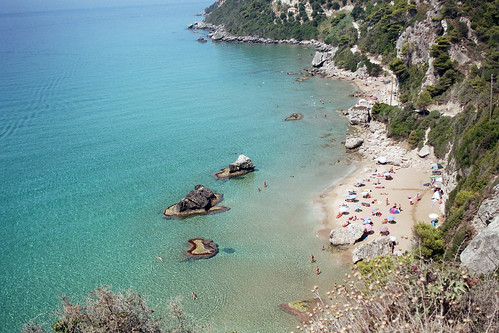 Corfu Myrtiotissa Beach