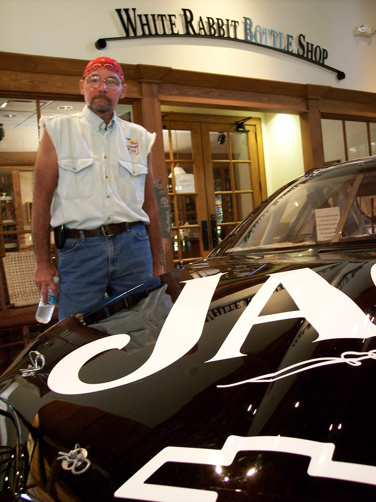 Jack Daniels Race Car | Sid takes a break from our trip to v… | Flickr