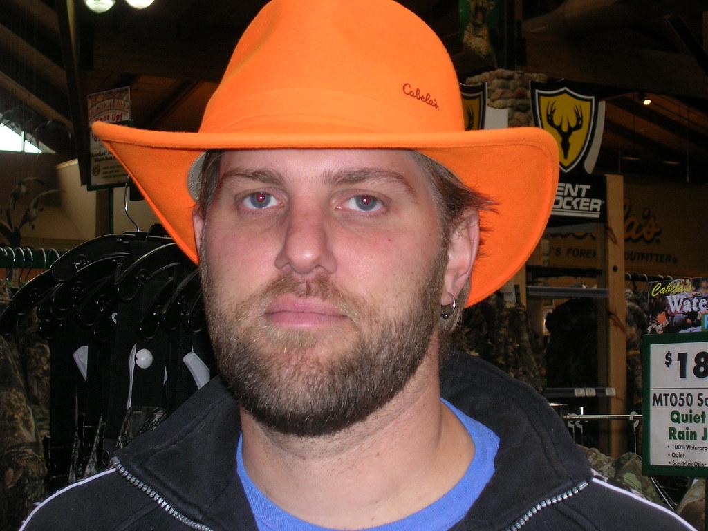 Big Swede in Blaze Orange Hat  81b9ec2cfd6