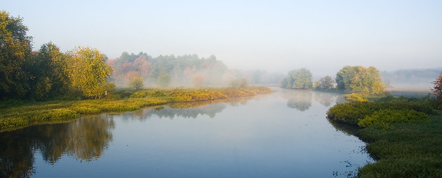 Mist on the Sudbury River