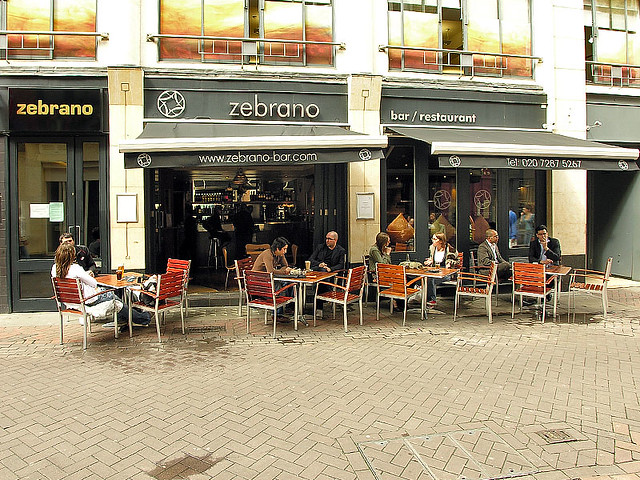 zebrano bar, ganton street, london | Flickr - Photo Sharing!