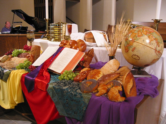 World communion 2006 flickr photo sharing for Altar decoration for first holy communion