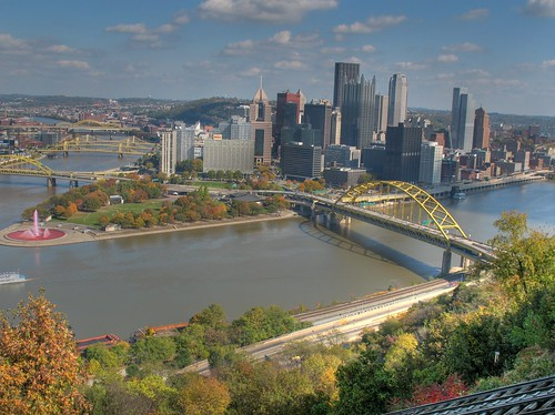 Pittsburgh Confluence HDR