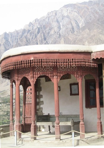 The Mir's throne room, Baltit Fort, Karimabad (1)