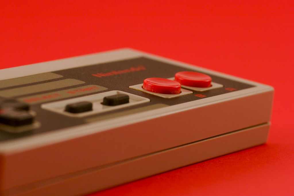 NES Controller in red