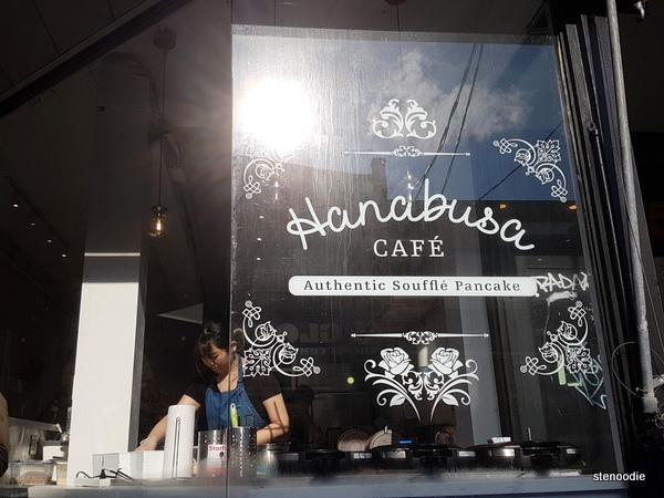 Hanabusa Café storefront