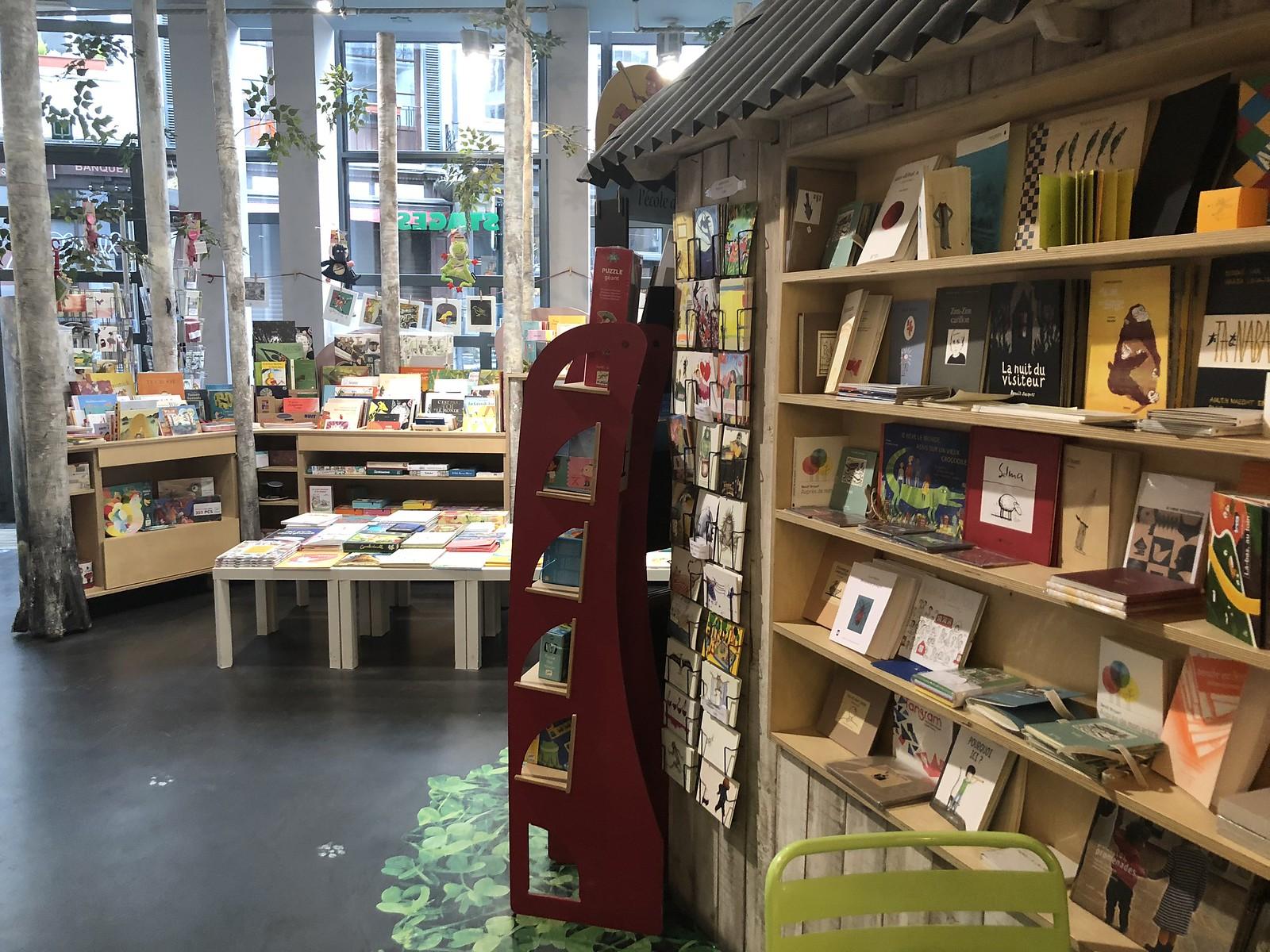 La librería Le Wolf, en Bruselas