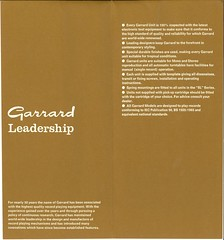 Garrard New SL Rangec