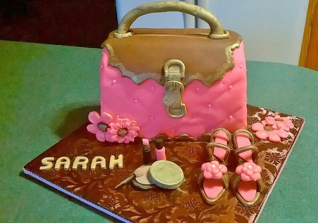 Handbag Cake by Cheryl's Cakes, Cupcakes, Cookies and More