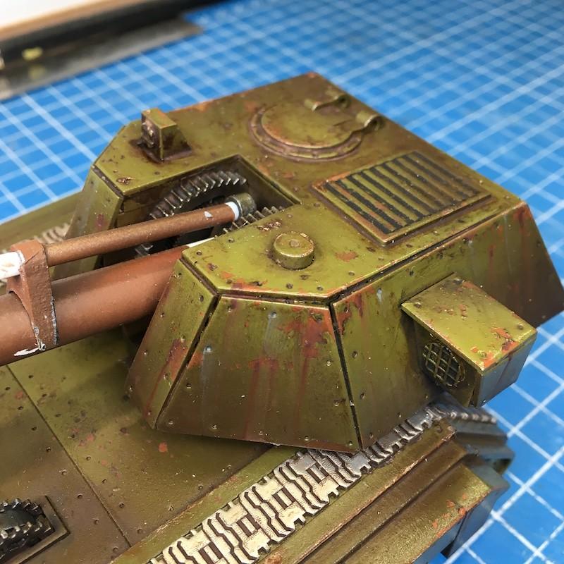 Lasercut basilisk tank green-11