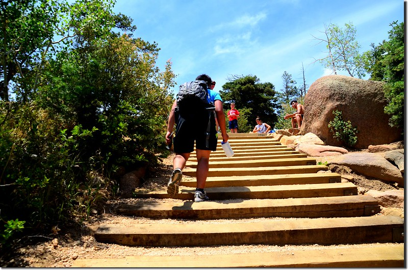 Jacob on his way up to the top of the incline (2)