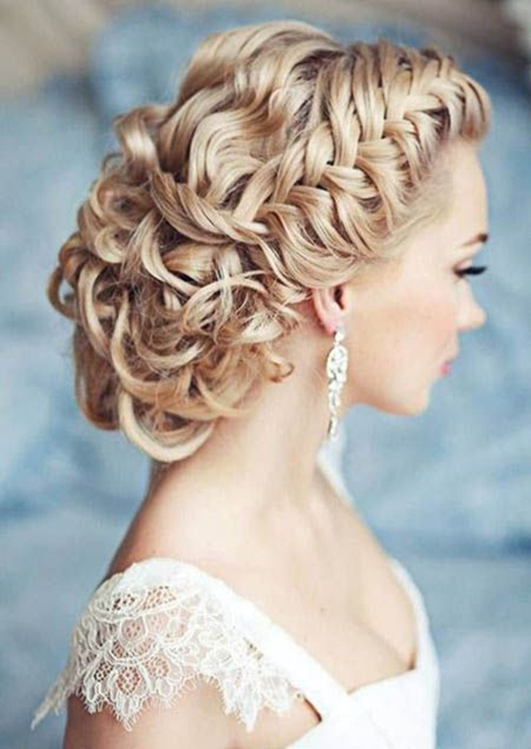 Fanciful Wedding Hairstyles 2018 For Chic Long Hair |Exclusive 5