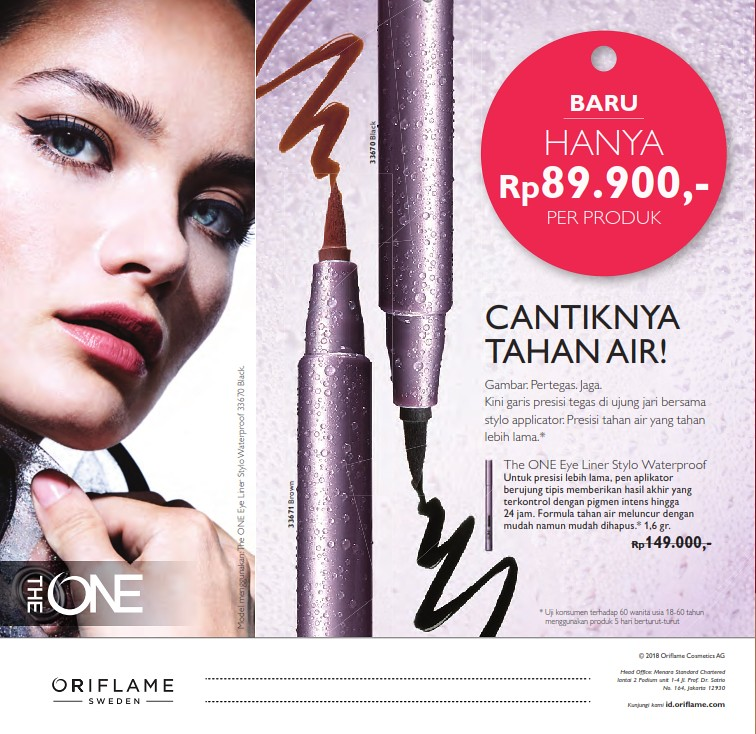 Katalog Oriflame Agustus 2018 Lengkap Promo Produk Baru