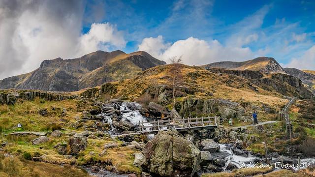 Wooden FootBridge Snowdonia