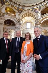 Neil MacGregor, Bill Bryson, Claire Walker, Huw Edwards
