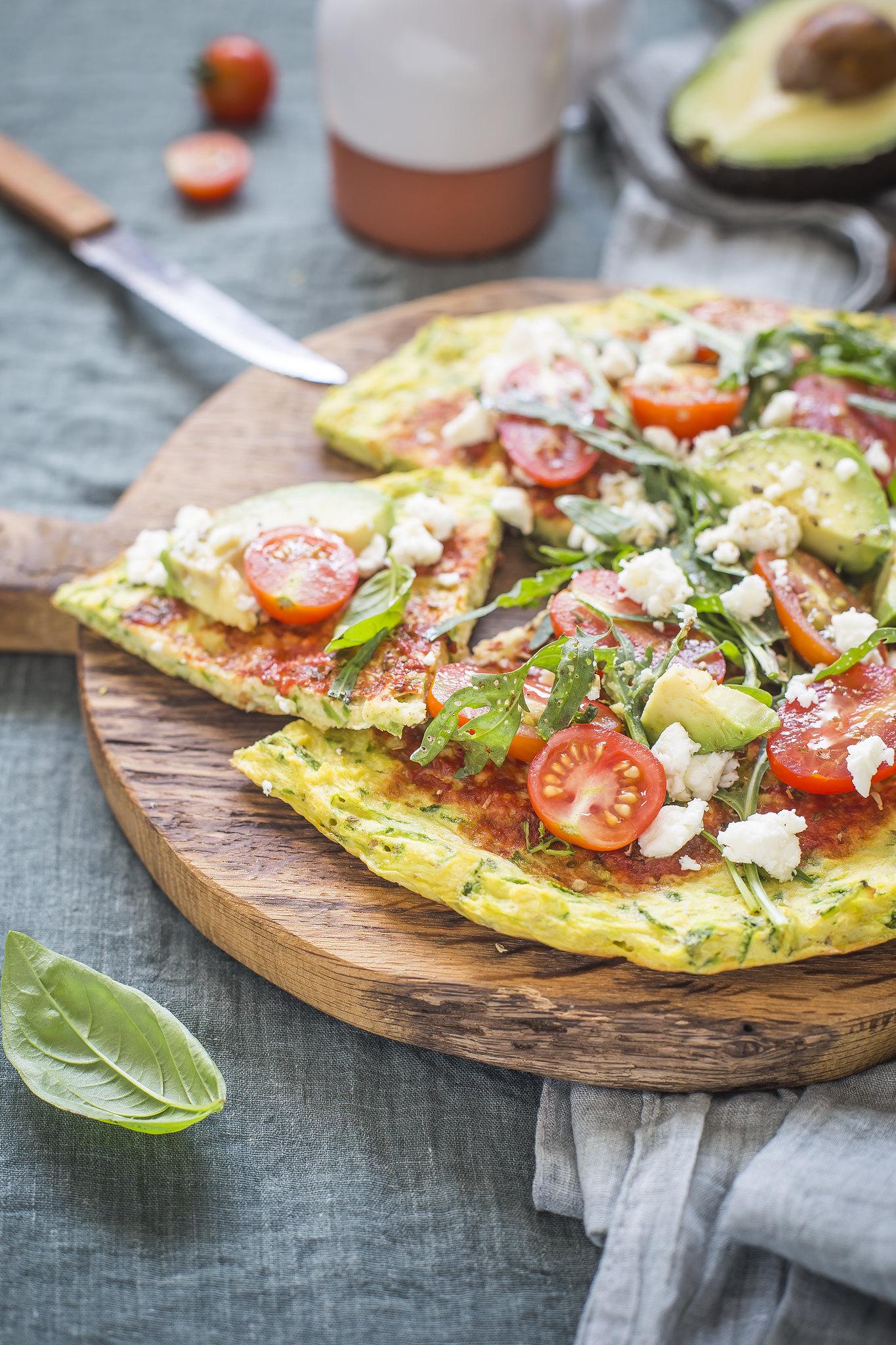 Pizza di zucchine