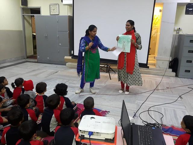 Vanamahosava Day Awareness in Pre primary June 2018
