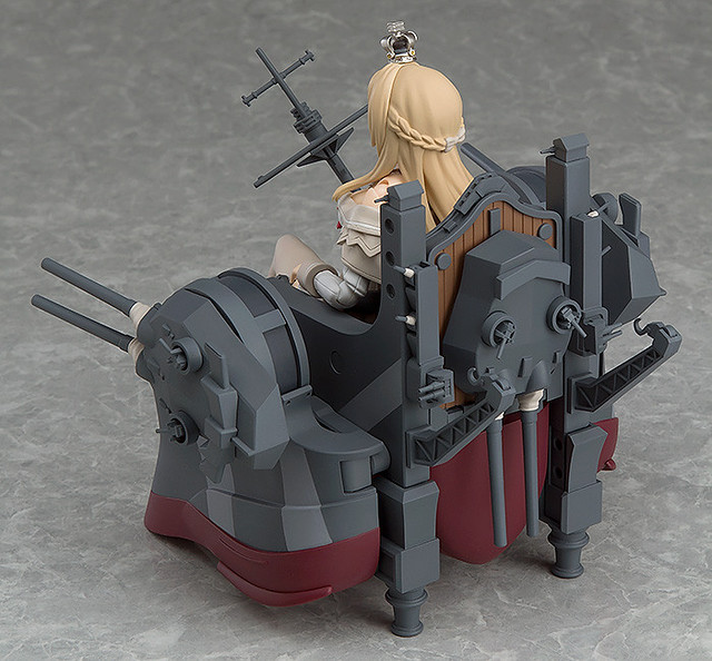 figma 《艦隊Collection》伊麗莎白女王級2號艦「厭戰號」【GOODSMILE線上商店限定】 !Warspite(ウォースパイト)
