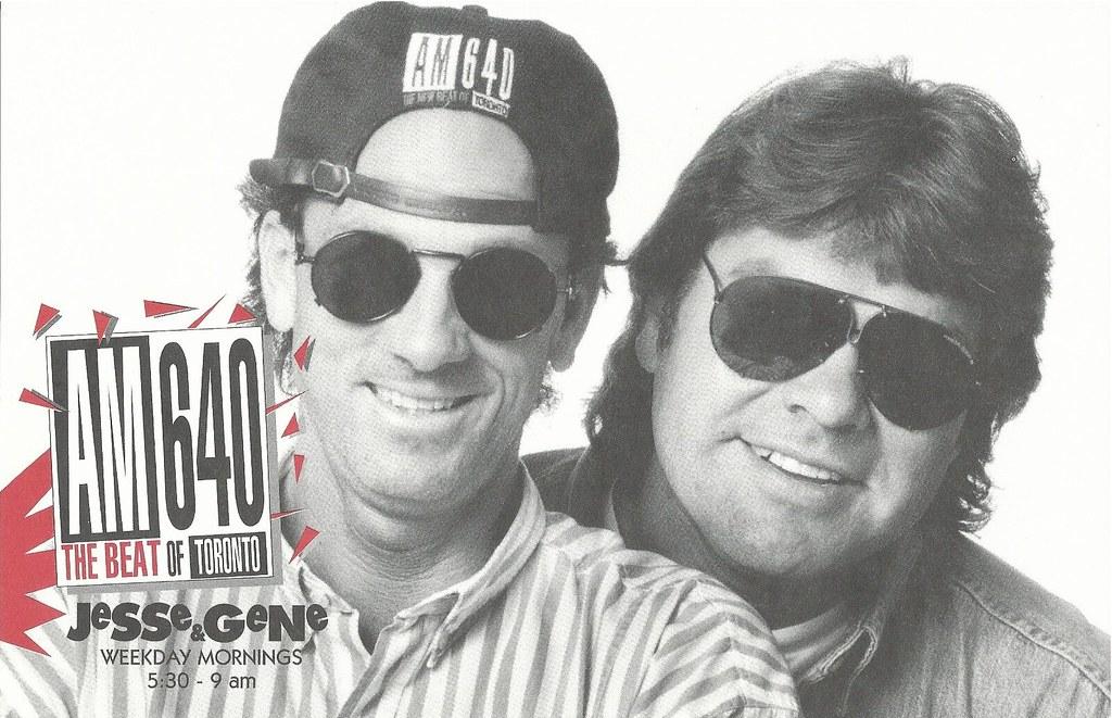 1993 AM640 Jesse & Gene poster