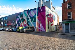DUBLIN STREET ART IN SMITHFIELD [BURGESS LANE - HAYMARKET]-138649