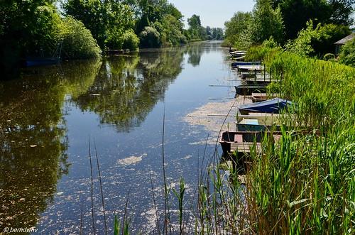 Idylle am alten Eiderkanal (1) / Schleswig-Holstein