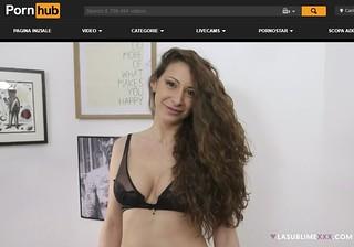 Martina Gold sul famoso canale PornHub