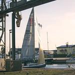20180706-200315 Segelboot - Hafen Burgstaaken
