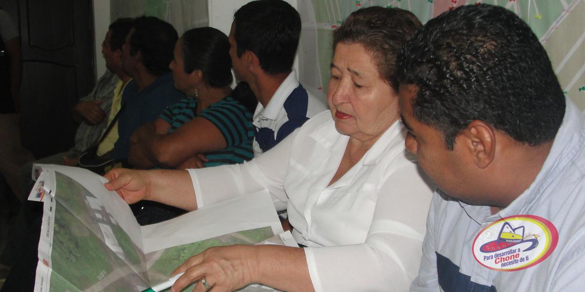 GADM Chone y Consorcio Ciudades Digitales socializan actualización de catastro