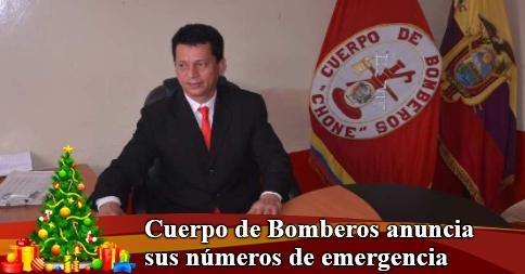 Cuerpo de Bomberos anuncia sus números de emergencia