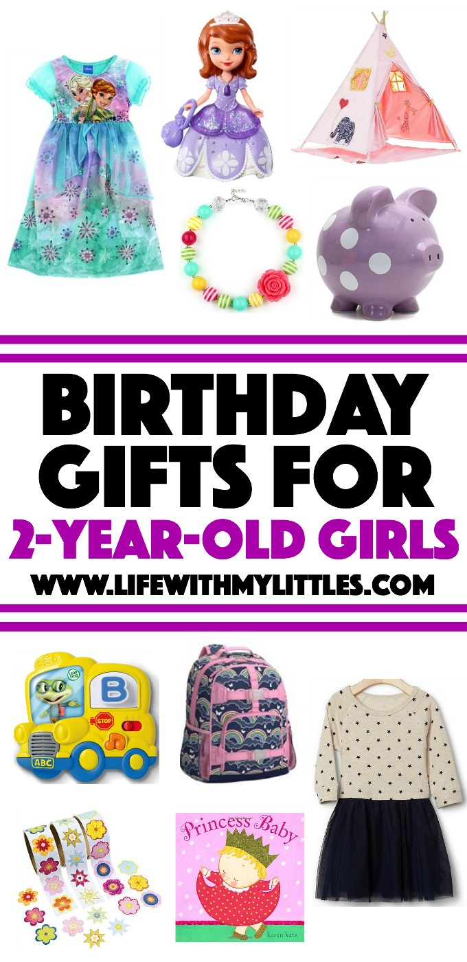 If you're looking for a gift idea for a 2-year-old girl, this is the post for you! 12 perfect birthday gifts for 2-year-old girls!
