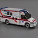 MB Sprinter - Ambulance by BrickDesigners