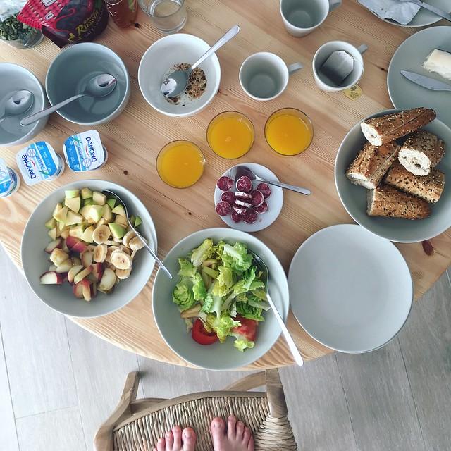 friday, breakfast, calella de palafrugell
