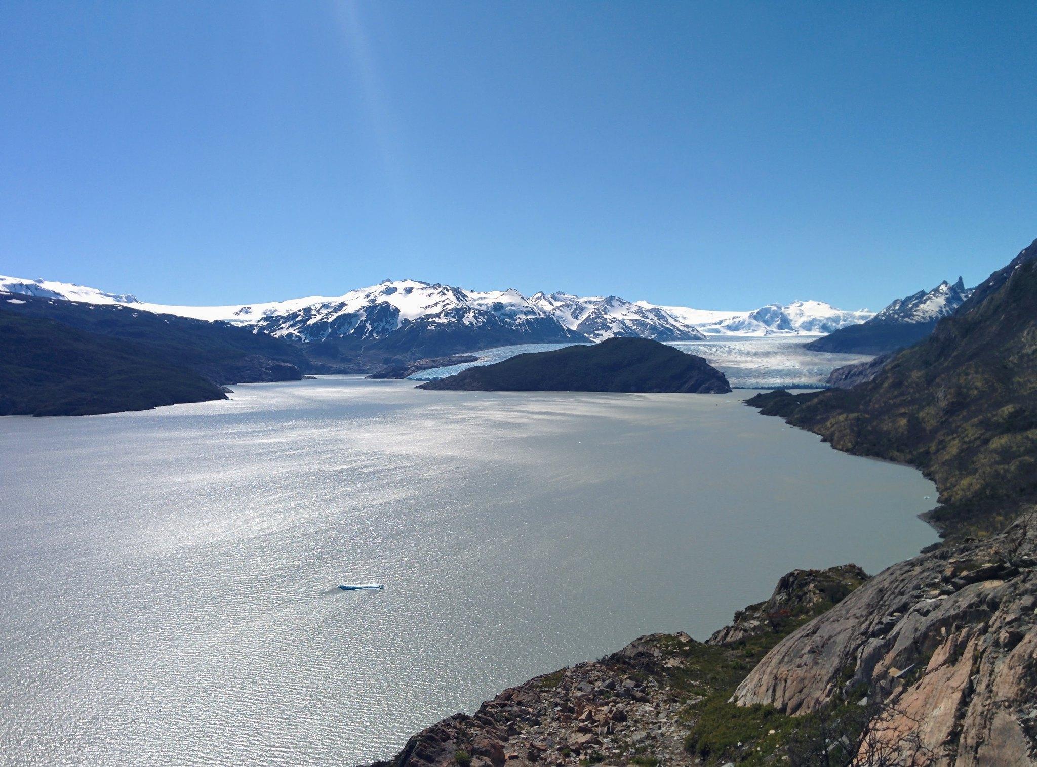 Grey Glacier from Lago Grey mirador