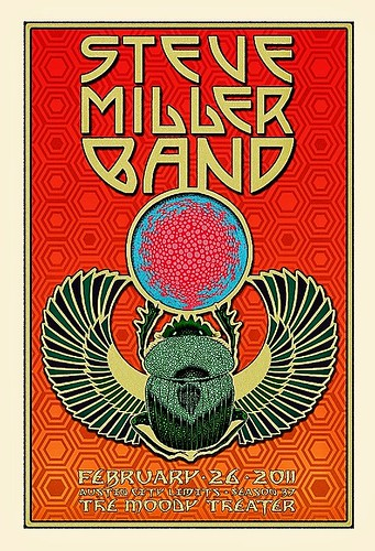Poster art for Steve Miller Band