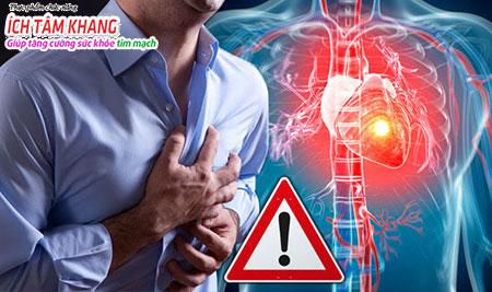 Đau thắt ngực là triệu chứng điển hình của thiếu máu cơ tim cục bộ