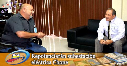 Repotenciarán subestación eléctrica Chone