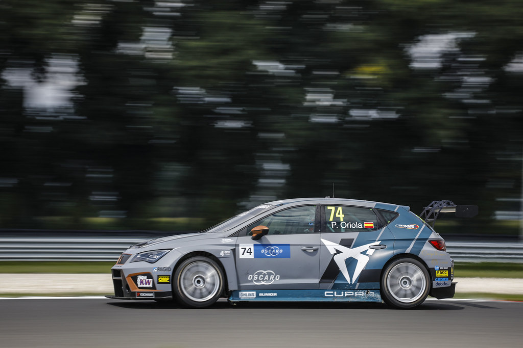 74 ORIOLA Pepe, (esp), Seat Cupra TCR team Oscaro by Campos Racing, action during the 2018 FIA WTCR World Touring Car cup race of Slovakia at Slovakia Ring, from july 13 to 15 - Photo François Flamand / DPPI.