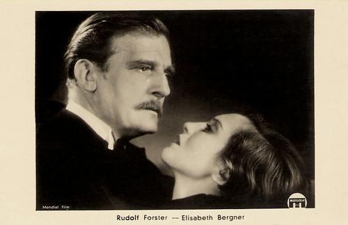 Rudolf Forster and Elisabeth Bergner in Der träumende Mund (1932)