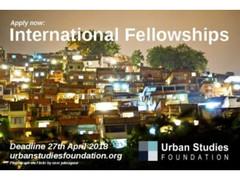 USF International Fellowship in UK 2018