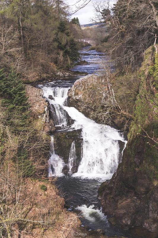 Reekie Linn Waterfall - Bridge of Glenisla - Scotland 2017