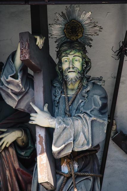 Capela Sra Da Guia - Christ Carrying the Cross