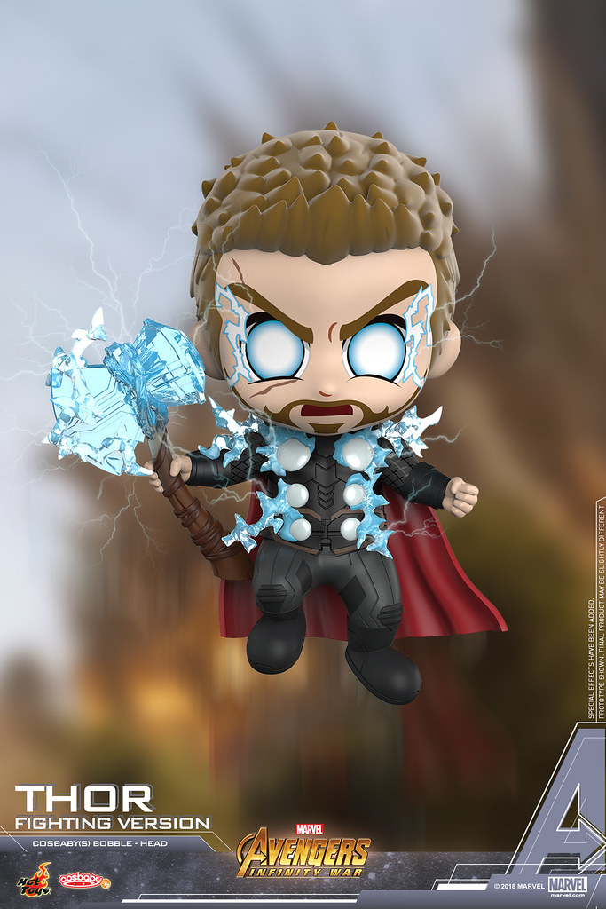 Assemble! Hot Toys Avengers: Infinity War Cosbaby Bobble-Head Series